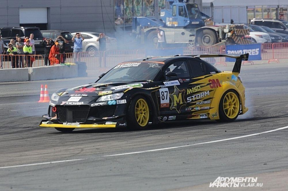 Масао по-японски аккуратно и чисто прошёл трассу.