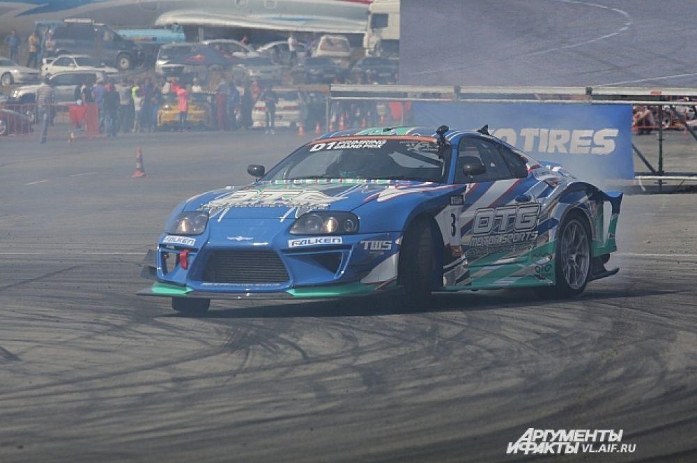 Ёичи Имамура великолепно прошёл трассу и вышел в финал.
