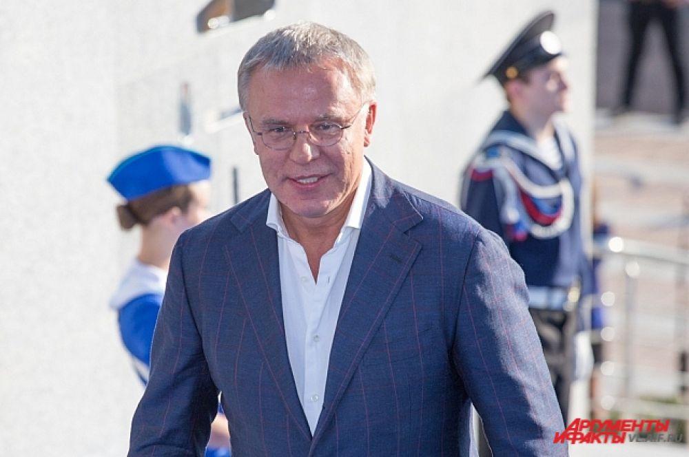 Сенатор от Приморского края Вячеслав Фетисов.