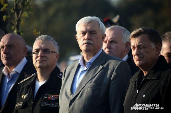 На церемонии присутствовал глава города Георгий Полтавченко.