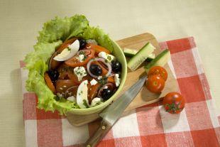 Болгарский салат.
