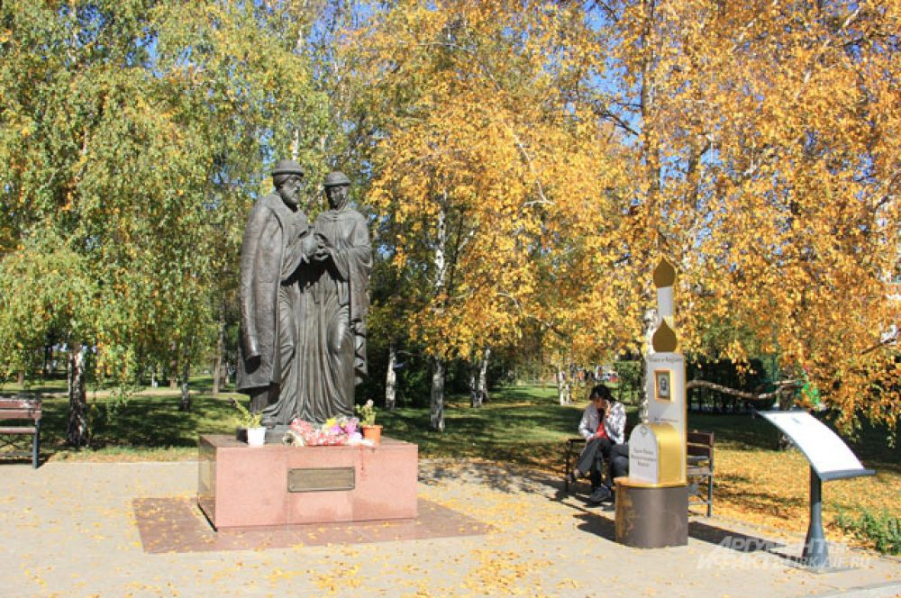Нижняя набережная, Иркутск.