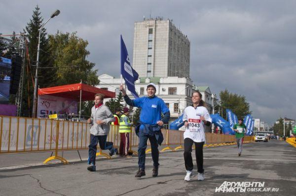 XXV Сибирский международный марафон.