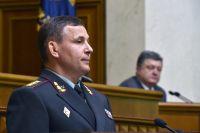 Министр обороны Украины Валерий Гелетей.