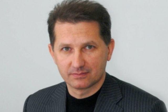 Новый министр строительства области Михаил Викторов.