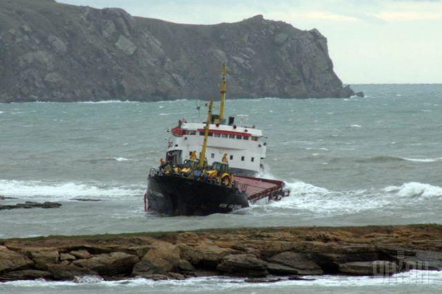 Крушение сухогруза «Вера Волошина» у берегов Крыма в 2007 году