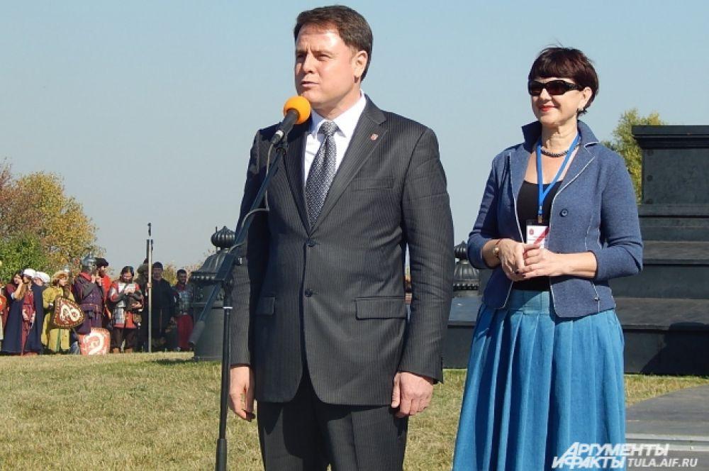 Владимир Груздев и Татьяна Рыбкина