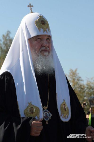 «Только тогда те мысли и убеждения, которые обеспечили победу на Куликовом поле, позволят одерживать победу и сегодня», - сказал Патриарх.