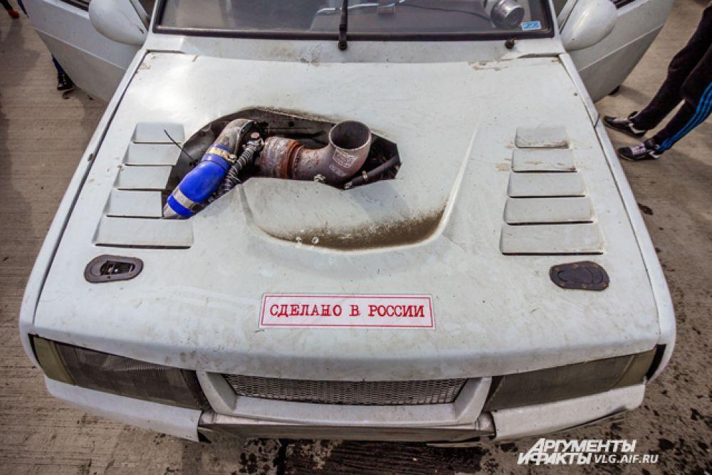 Автолюбители совершенствуют свои машины как могут.