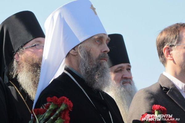 Митрополит Тульский и Ефремовский Алексий.