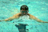Виктор Назаров решил проверить свои способности в плавании.