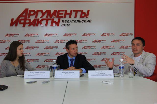 Светлана Федорченко, Павел Никитин и Алексей Шинкарук
