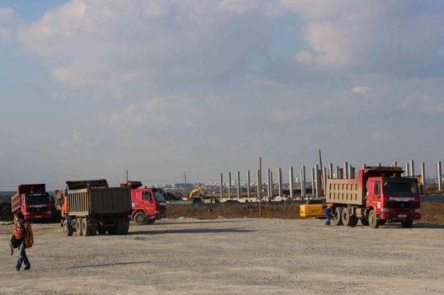 Строительство южного объезда Екатеринбурга идет полным ходом