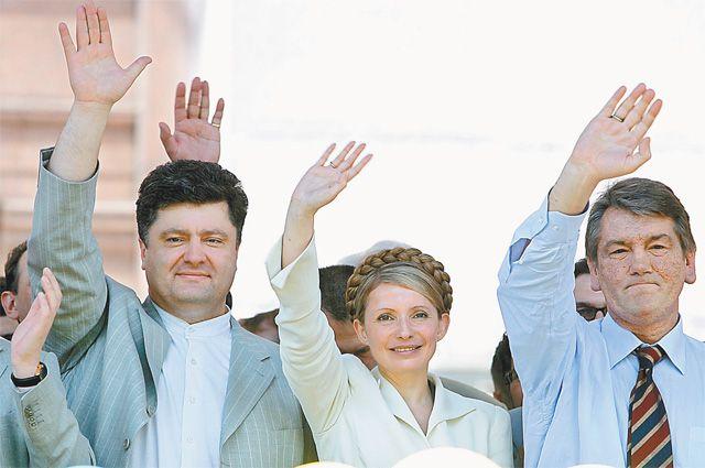 К властному олимпу Порошенко шёл через два майдана.