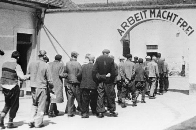 Бывшая нацистская крепостная тюрьма в Терезине, где было уничтожено множество политических заключенных.