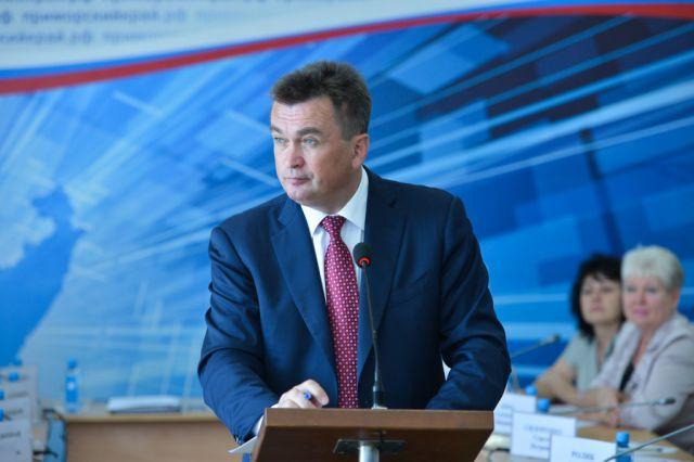 ГУбернатор Приморья В.В. Миклушевский