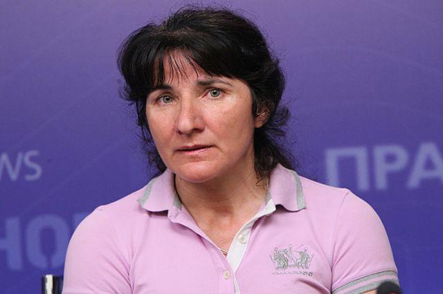 Альпинистка Лейла Албогачиева.