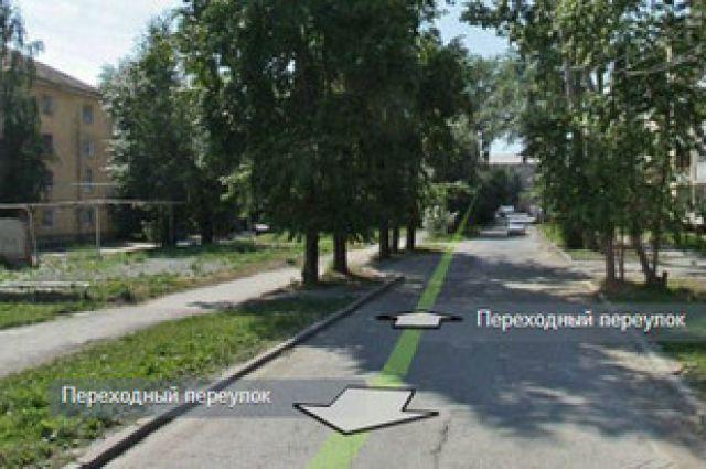 Переулок Переходный закрыт в Екатеринбурге до середины октября