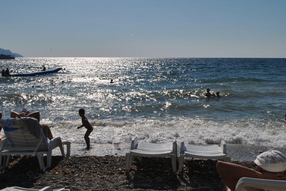 Редкие дни волнения моря в Новом Свете, в месте, которое в конце 19 века называлось Парадиз, то есть рай.