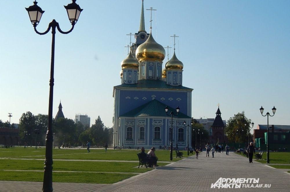 Тульский Кремль теперь справедливо можно назвать главной достопримечательностью областного центра