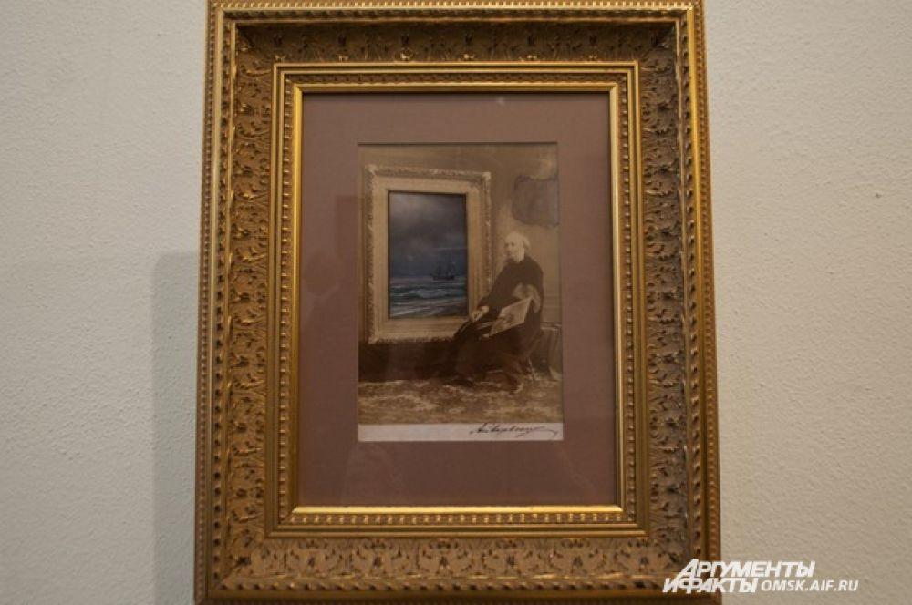 Выставка картин Айвазовского в Омске.