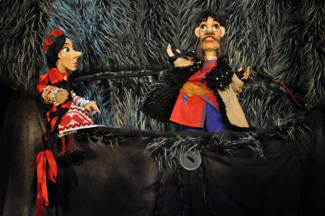 Сцена из спектакля «Ночь перед Рождеством».