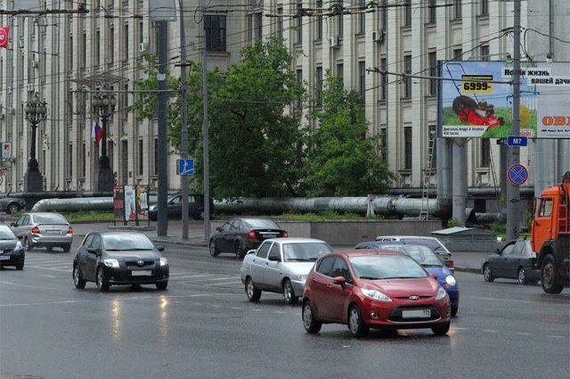 Горьковское шоссе.