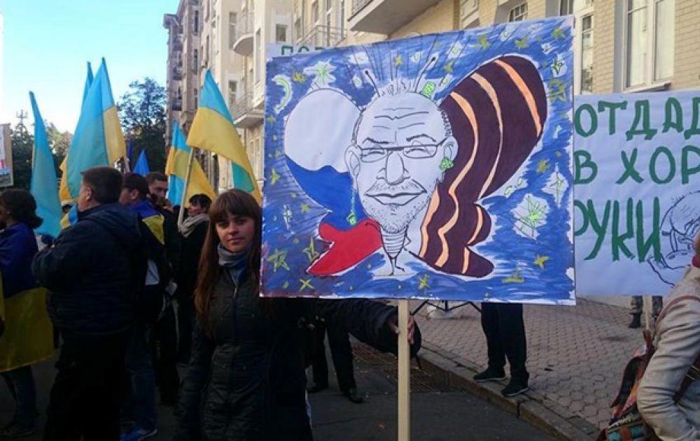 Активисты из Харькова перекрыли Крещатик и требуют отставки Кернеса