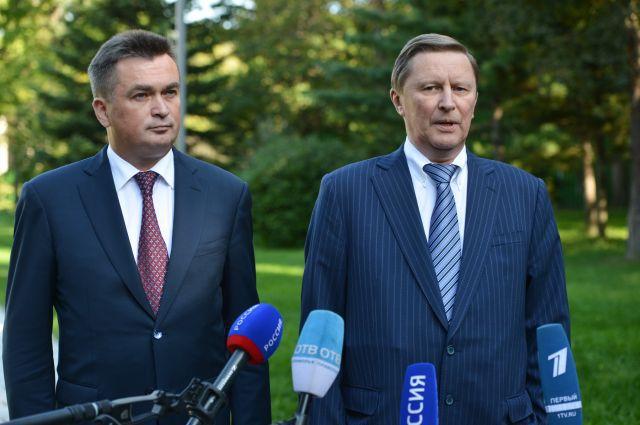 Сергей Иванов и Владимир Миклушевский