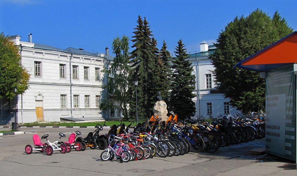 Прокат велосипедов и прочих бездымных средств передвижения