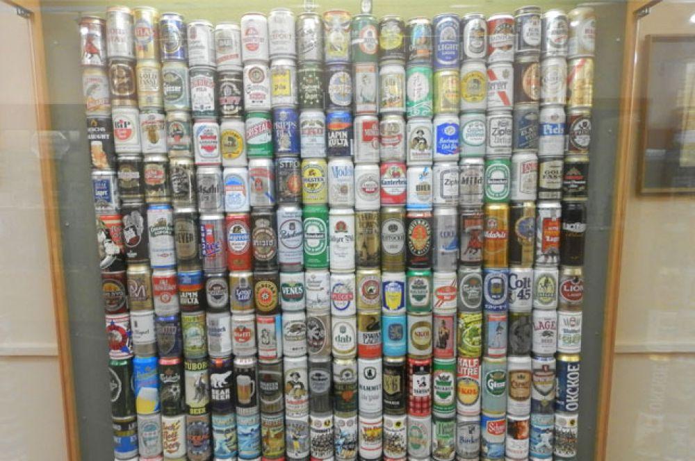Жестяные банки из под пива. От 1970-х и до наших дней