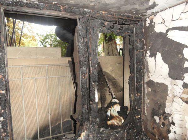 Сгорел офис волонтерской организации «Новый Мариуполь»