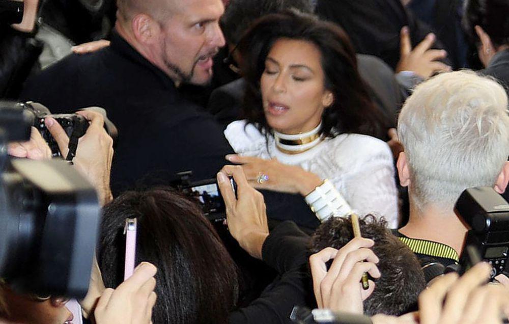 Украинский журналист набросился на Ким Кардашьян