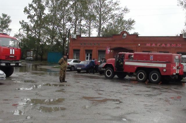 Частные дома жителей Обуховки оказались вновь под водой