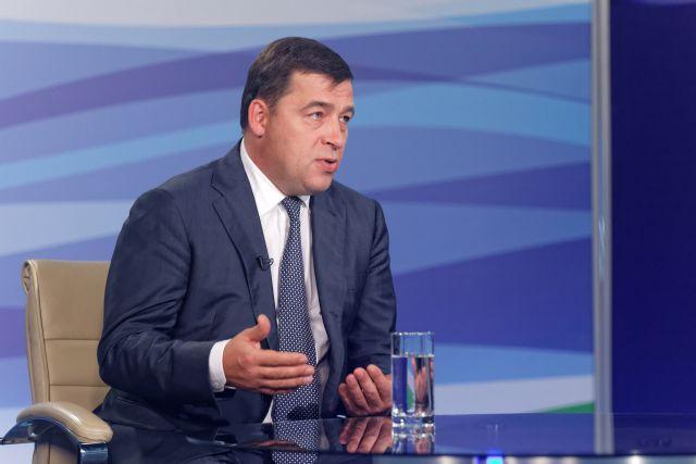 Губернатор Куйвашев встретился с президентом России Владимиром Путиным