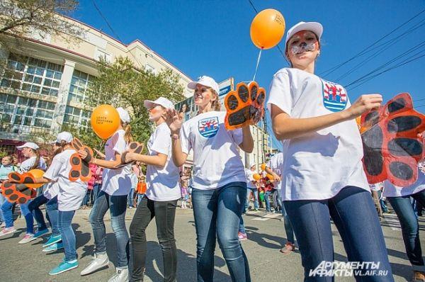 Молодёжь - главная движущая сила праздника.