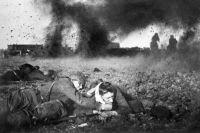 Великая Отечественная война 1941-1945 годов. Октябрь 1941 года. Бой в Подмосковье.