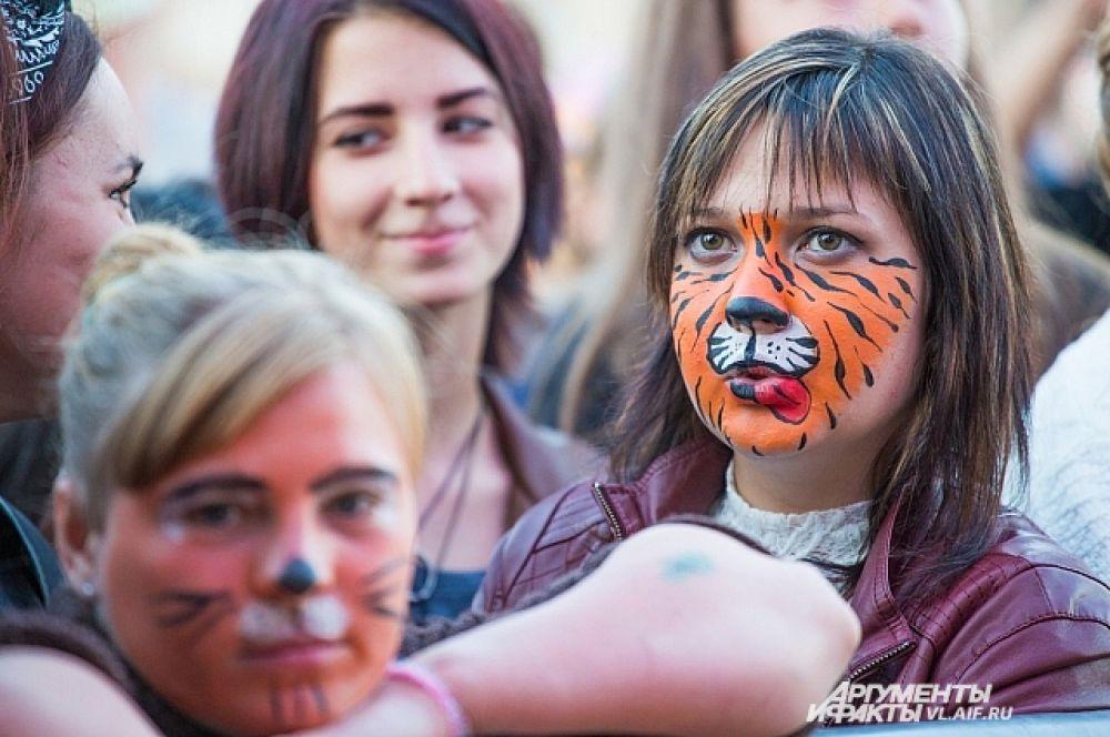 ...и видел тигров. Как не испугался?