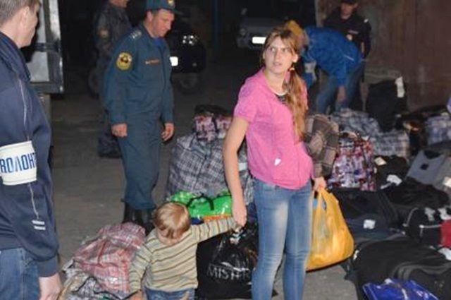 На Южный Урал уже переехали свыше 4 тысяч беженцев с Украины