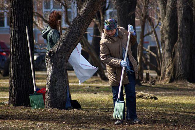 Власти Челябинска зовут горожан на осенний субботник