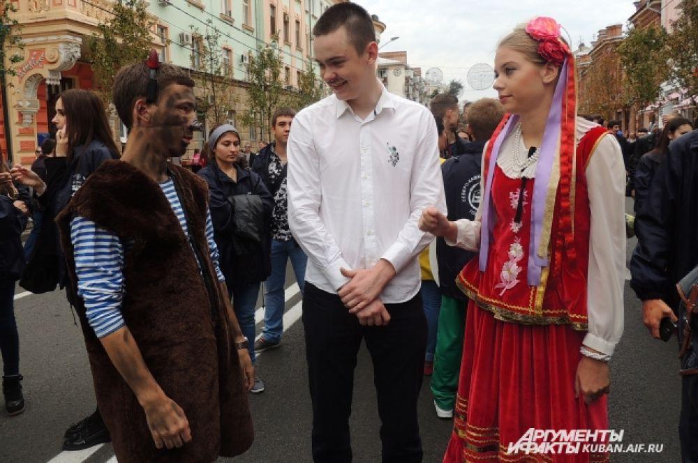 Черт, Балда и русская красавица
