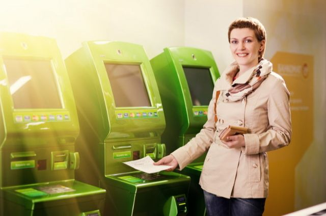 Интернет в банкоматах Сбербанка