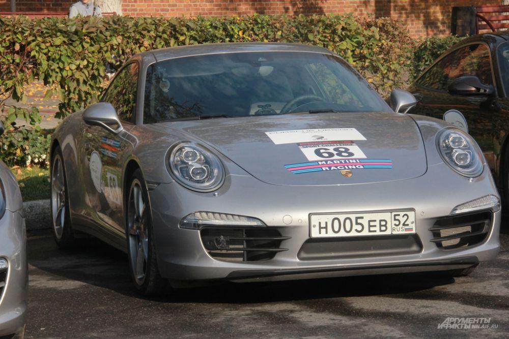 Модели приехали из частных коллекций и из «Porsche Museum» в Штутгарте
