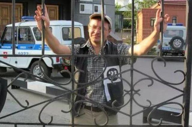 Константин Жаринов был задержан за участие в акции «Стратегия-31».