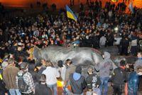 На площади Свободы в Харькове