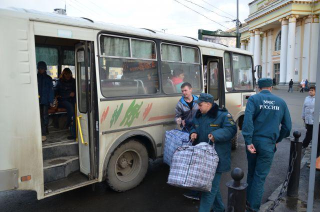 На Средний Урал 1 октября прибудут еще 111 беженцев с Украины