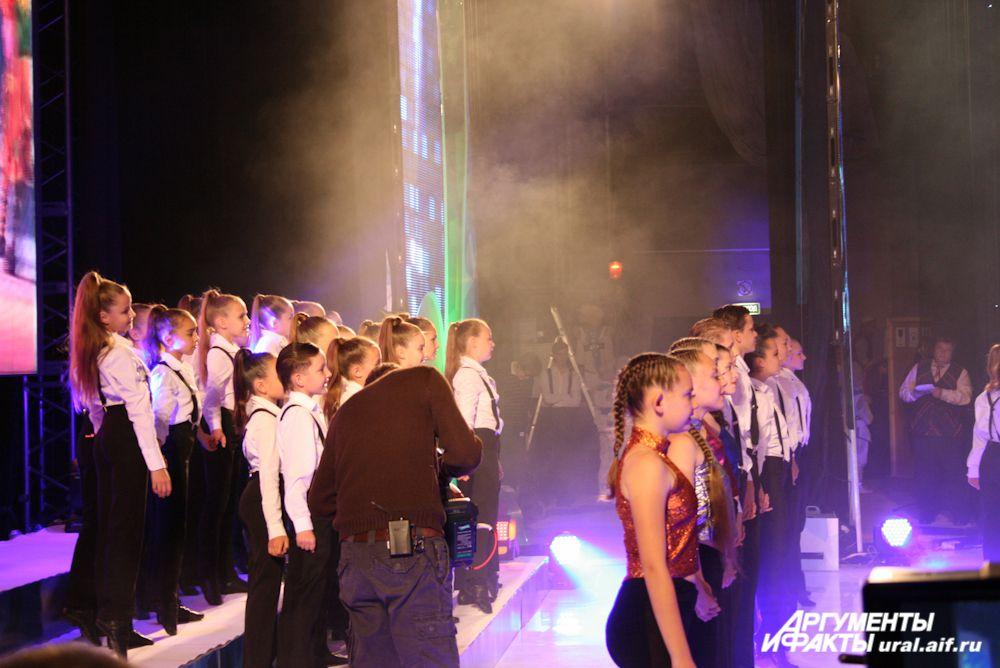 В гала-концерте участвовали ребята из самых перспективных вокальных и танцевальных коллективов страны