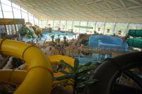 В Омске появился новый крытый аквапарк.
