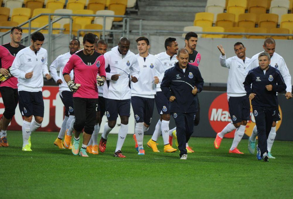 Футболисты «Порту» на «Арене Львов»