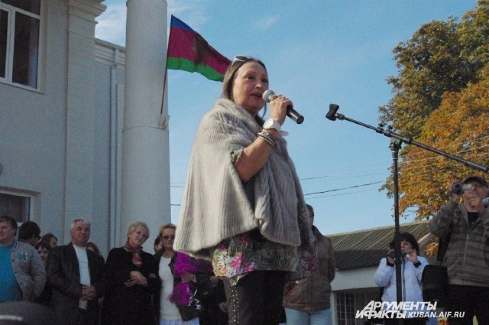 В рамках фестиваля демонстрировали документальный фильм об актрисе Ларисе Кадочниковой.